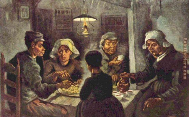 """The Potato Eaters"" by Vincent van Gogh"